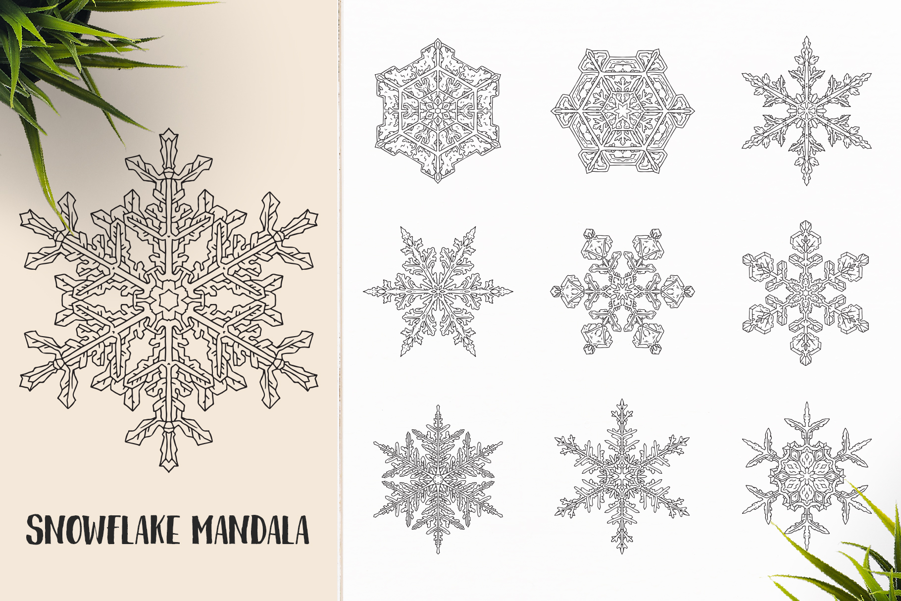 530 Vector Mandala Ornaments Bundle example image 14