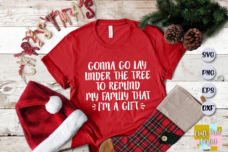Funny Christmas Shirt Svg, Christmas Saying, Funny Christmas example image 1
