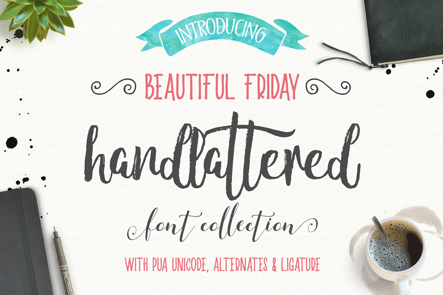 Beautiful friday (13 Fonts) example image 1