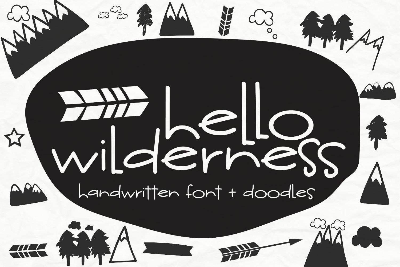 Hello Wilderness Sans example image 1