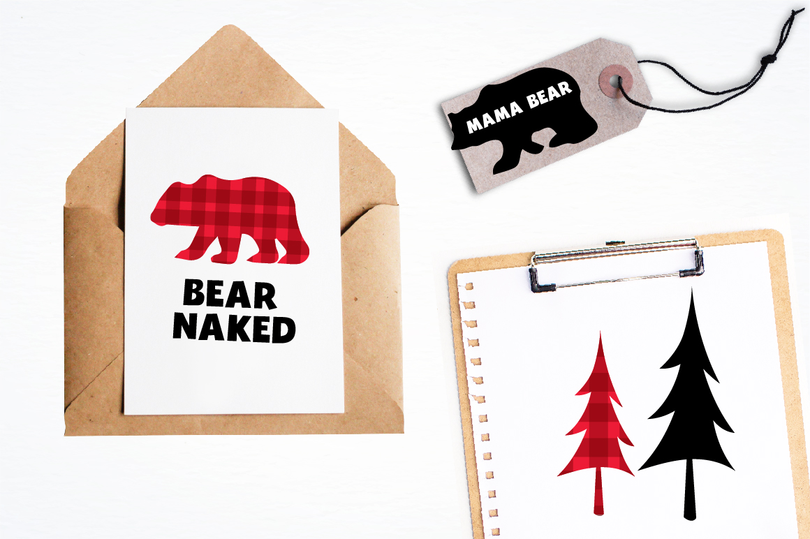 Bear Cabin graphics and illustrations example image 4