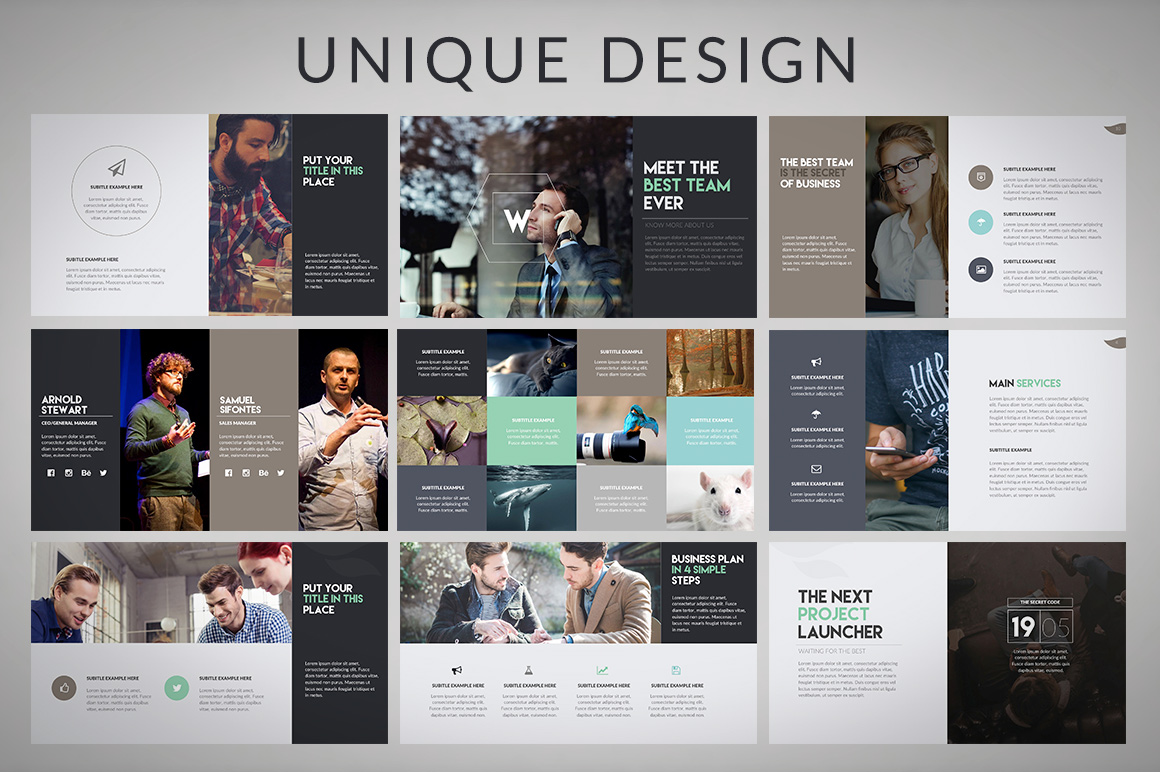 Wava Powerpoint Template example image 4