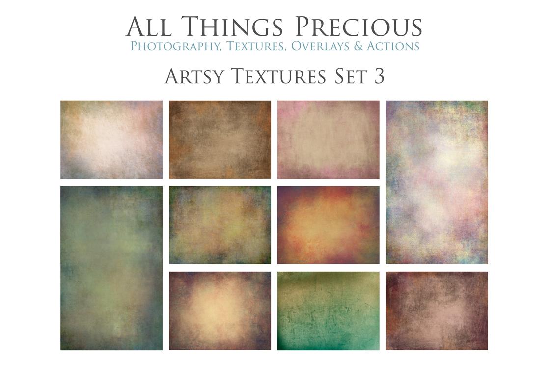 10 Fine Art Artsy Textures SET 3 example image 1