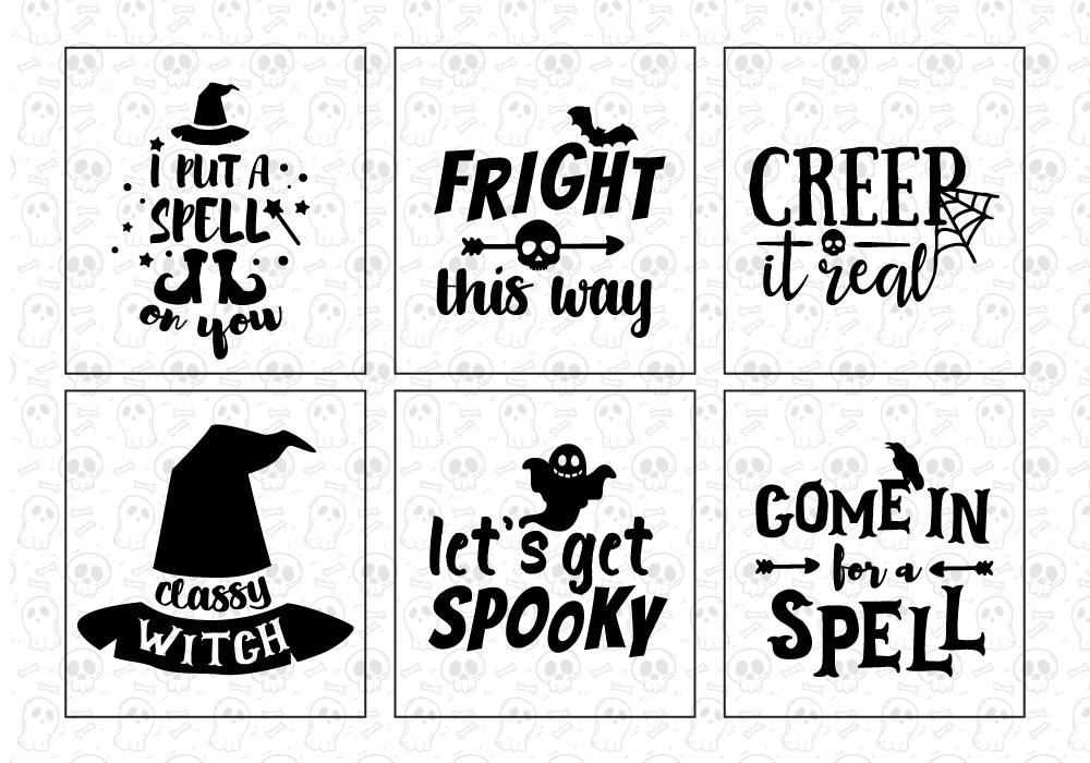 Halloween SVG Cut File Bundle example image 3