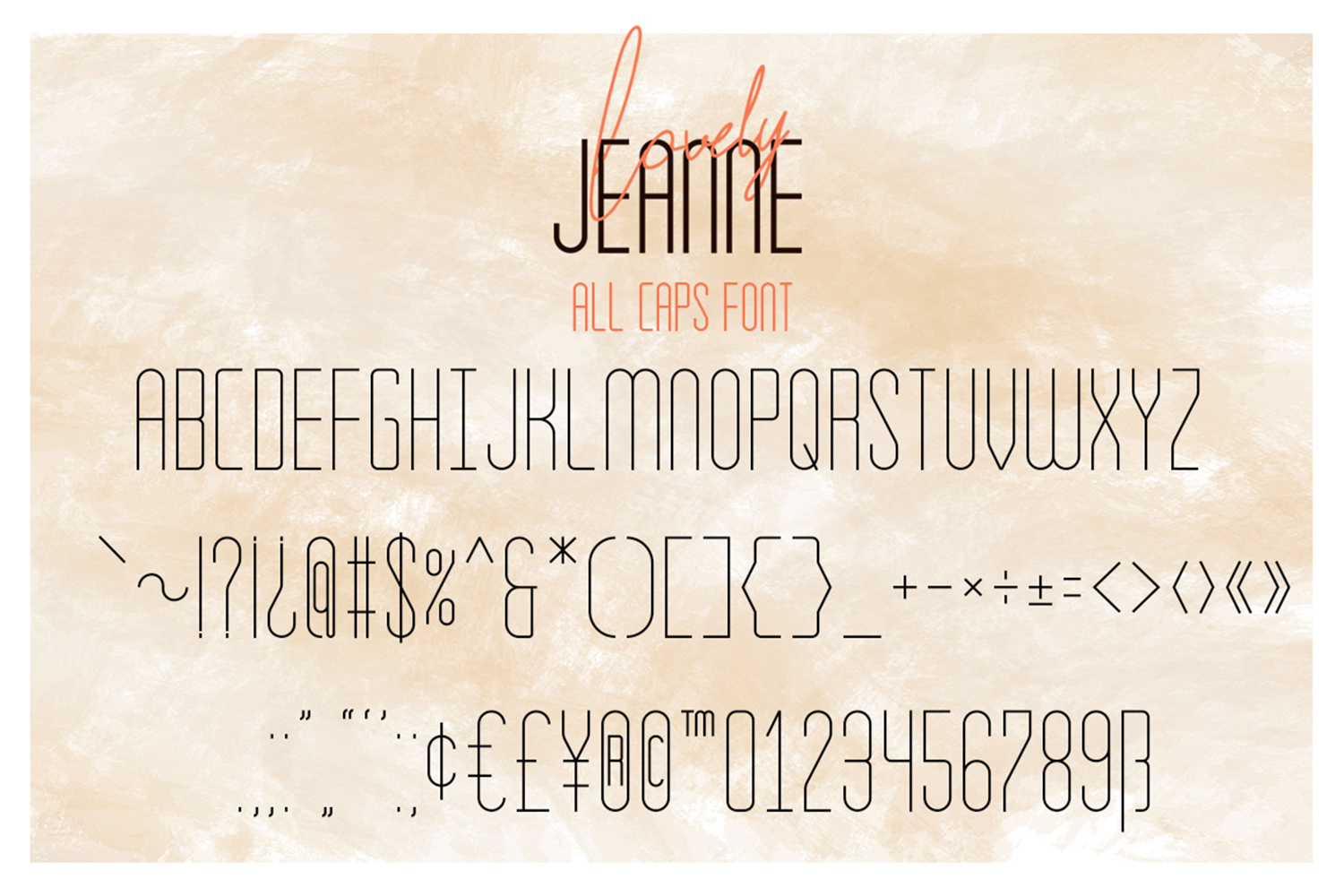 Lovely Jeanne Font Duo example image 7