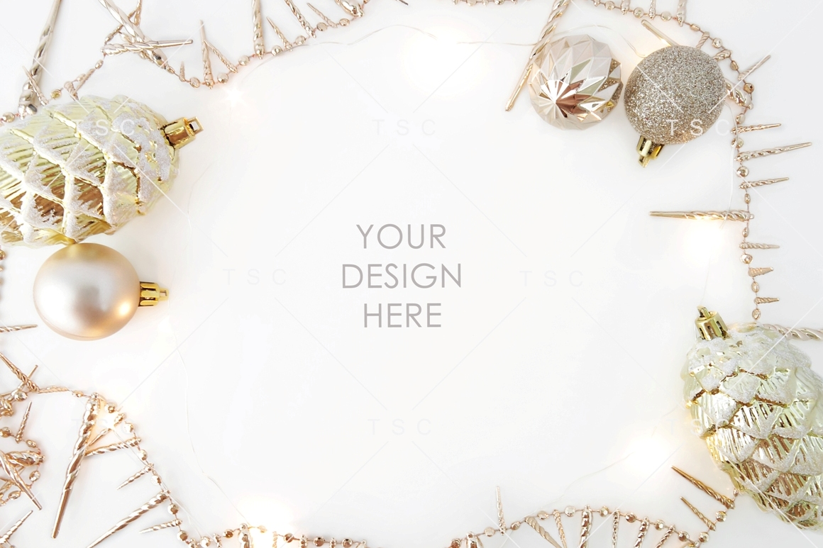 Gold Christmas Stock Photo example image 1