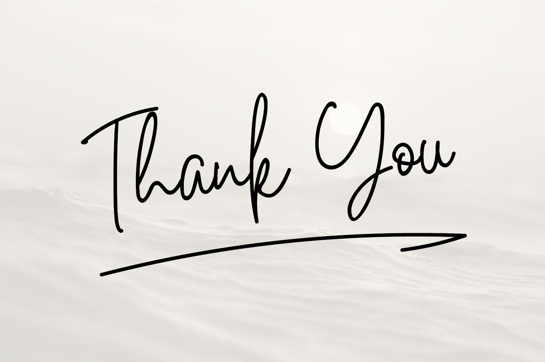 White Star- Chic Handwritten font example image 8