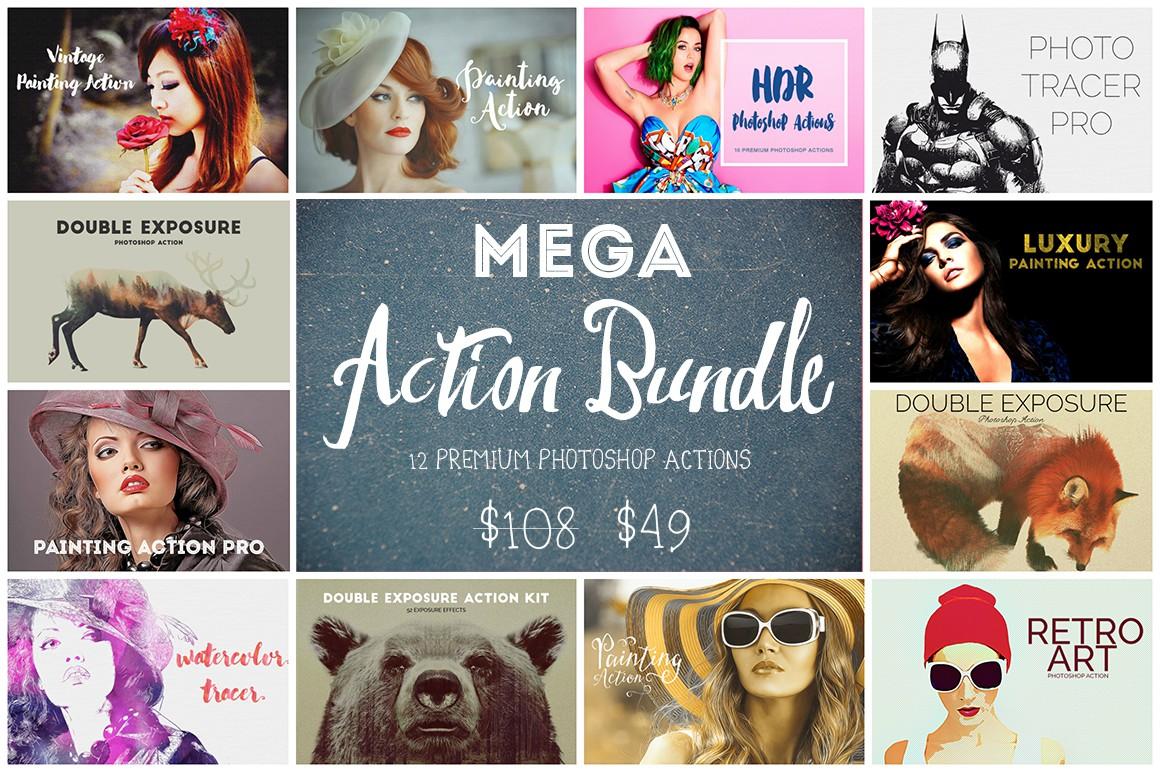 Mega Action Bundle - 75% OFF example image 1