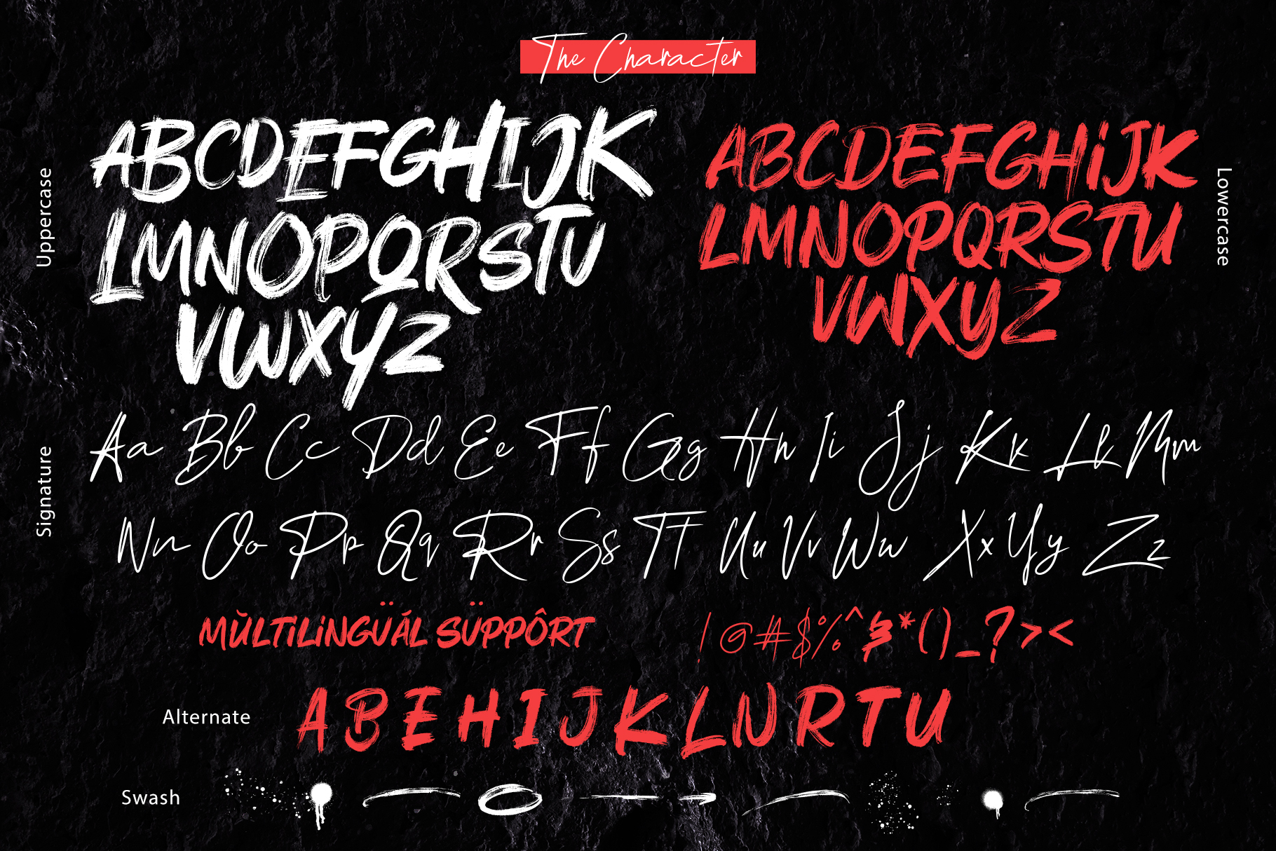 Rushink Font Duo | Brush & Signature example image 3