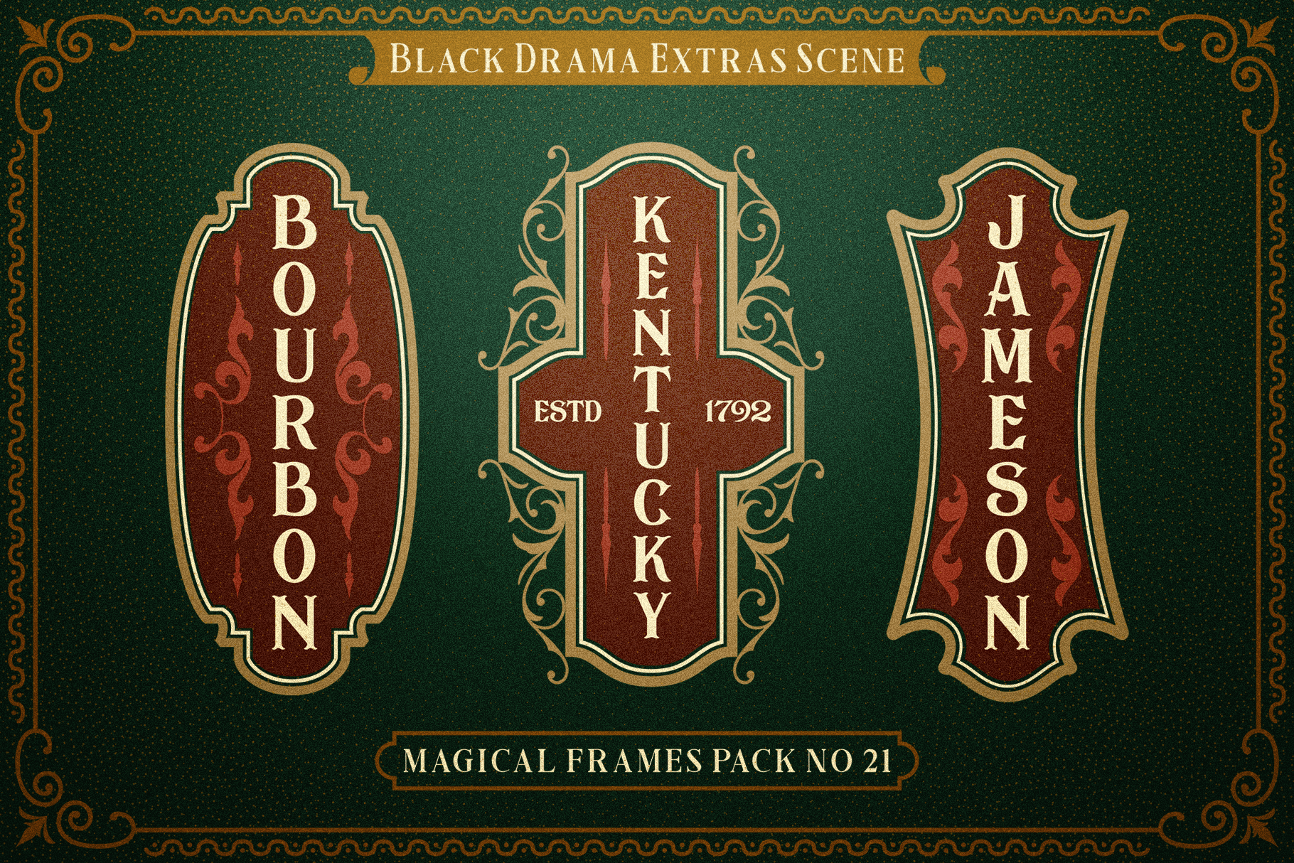 Black Drama Combination  Extras example image 8