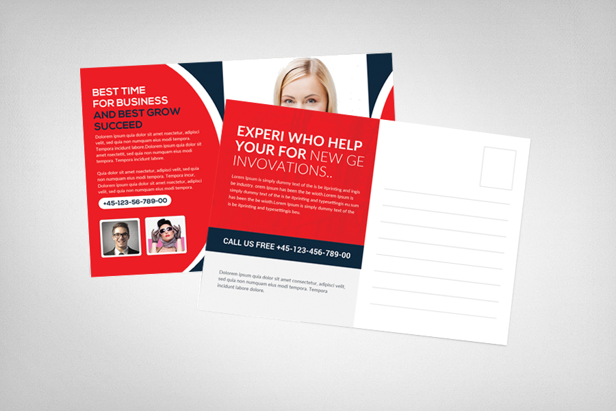 Smart Business Postcsrd Template example image 2