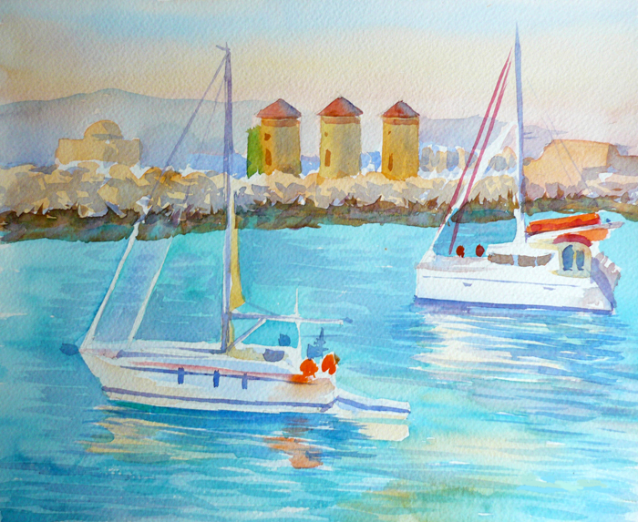 Watercolor Seascapes example image 2