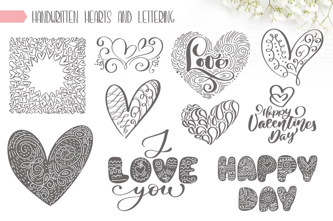 Valentine Bundle mockup example image 16