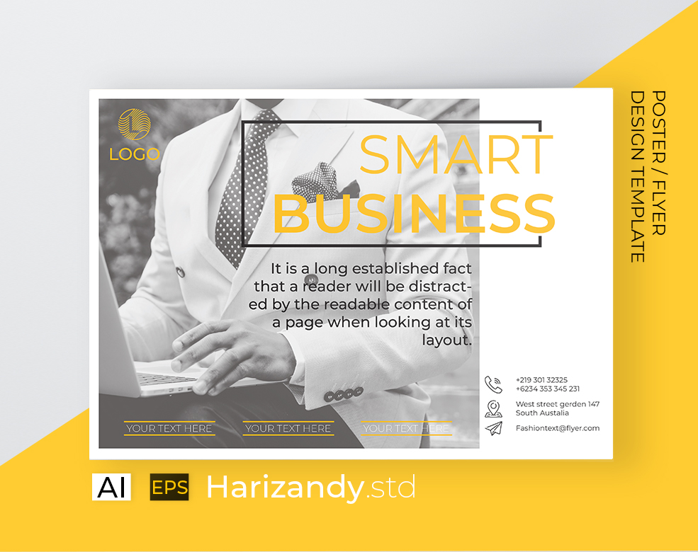 Smart Business flyer example image 2