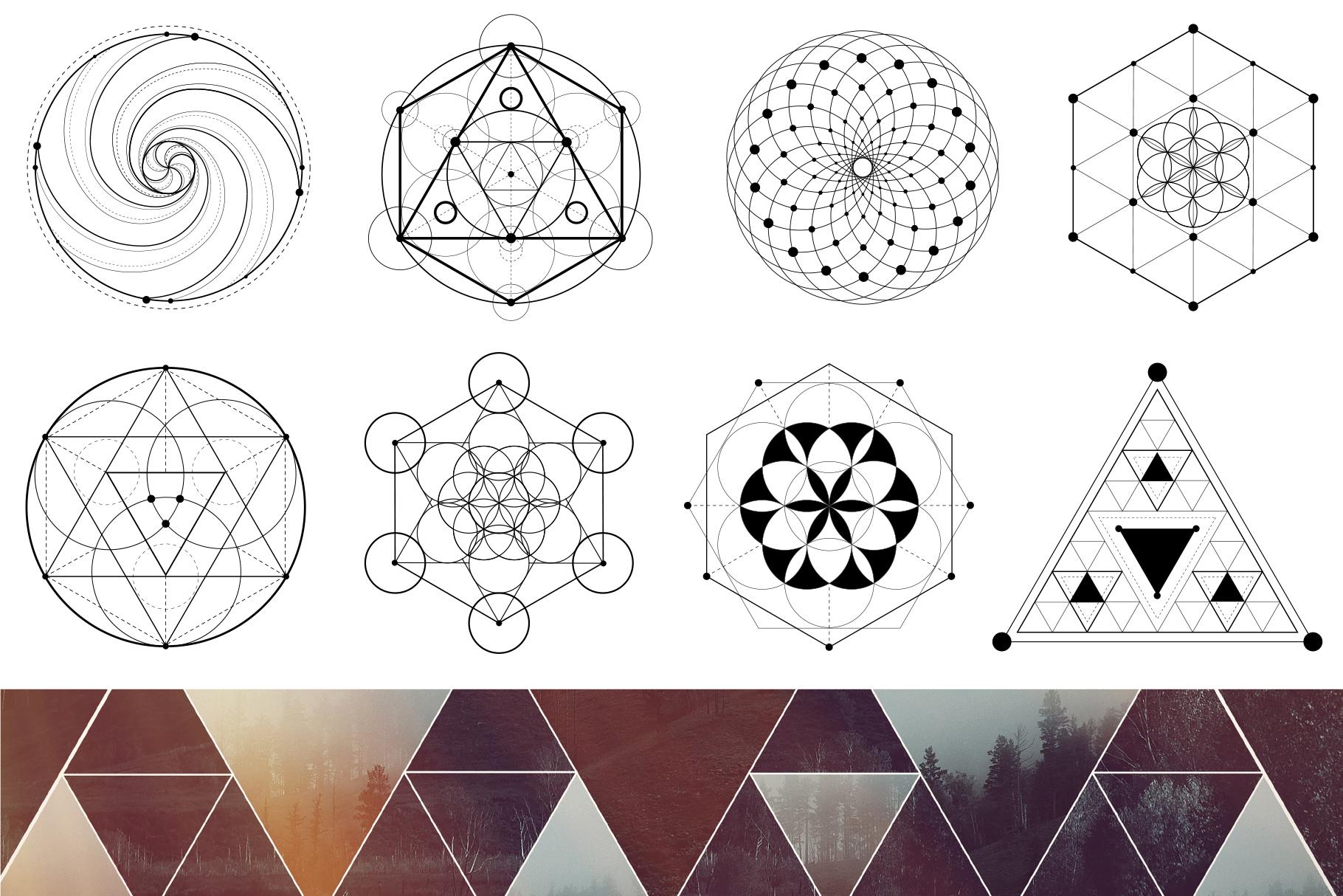 Sacred geometry unity of nature example image 4