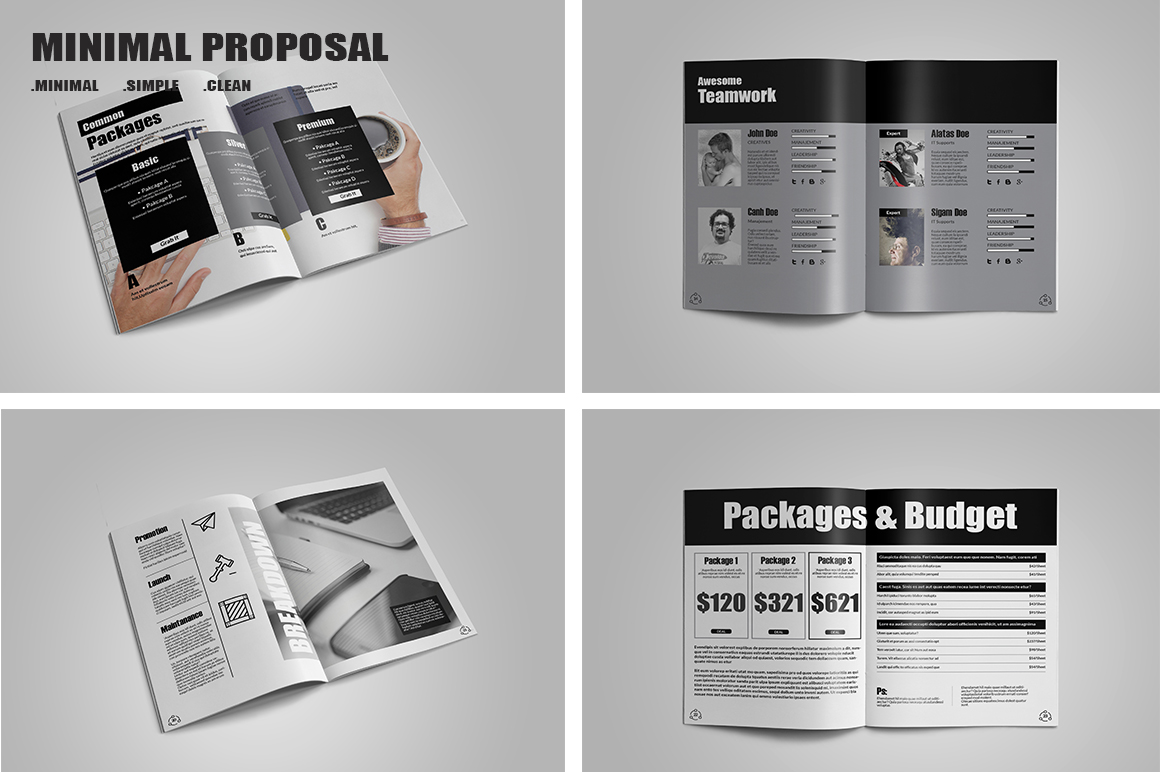 Minimal Proposal Template example image 2