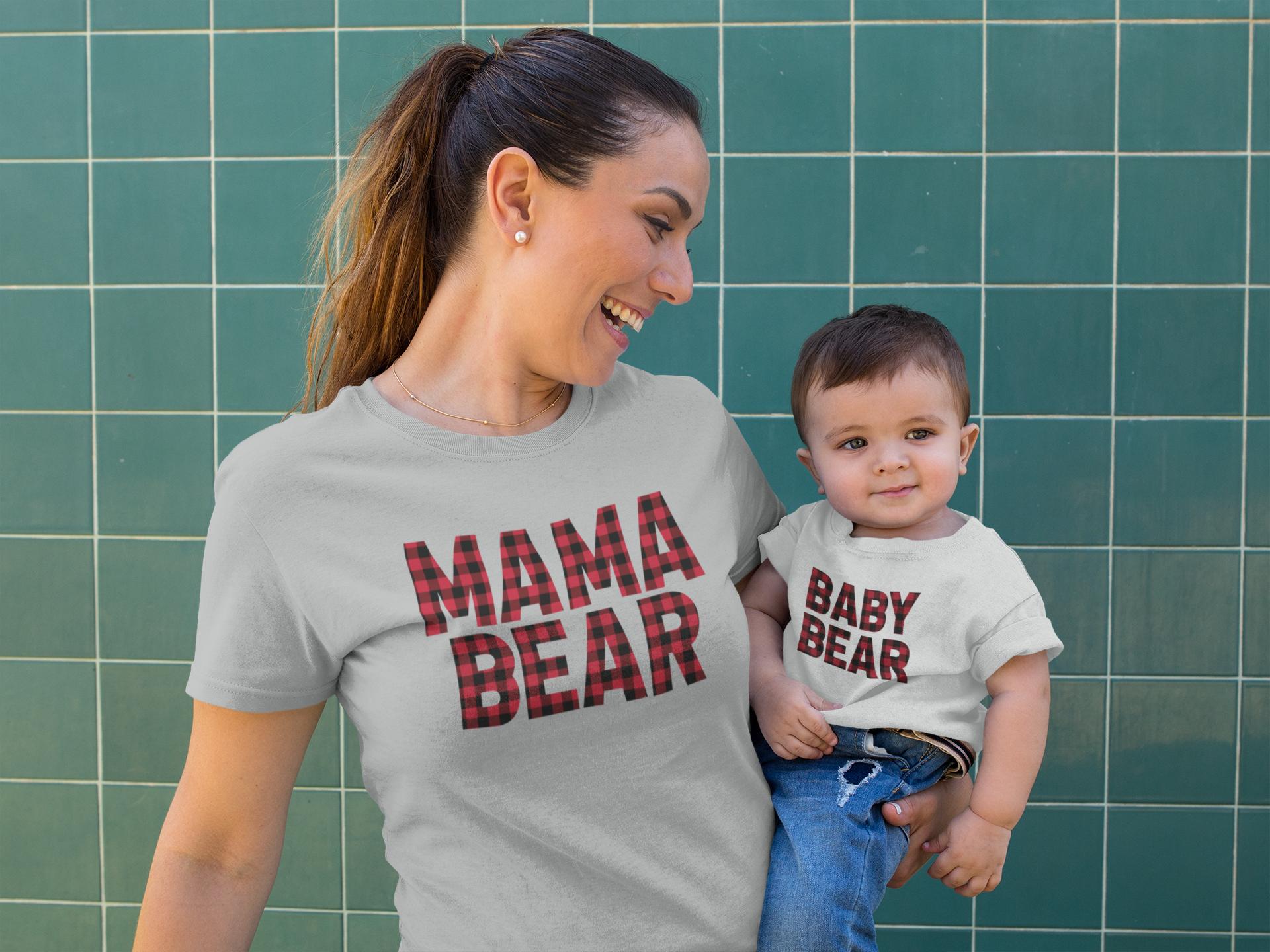 Plaid Bear Family example image 2