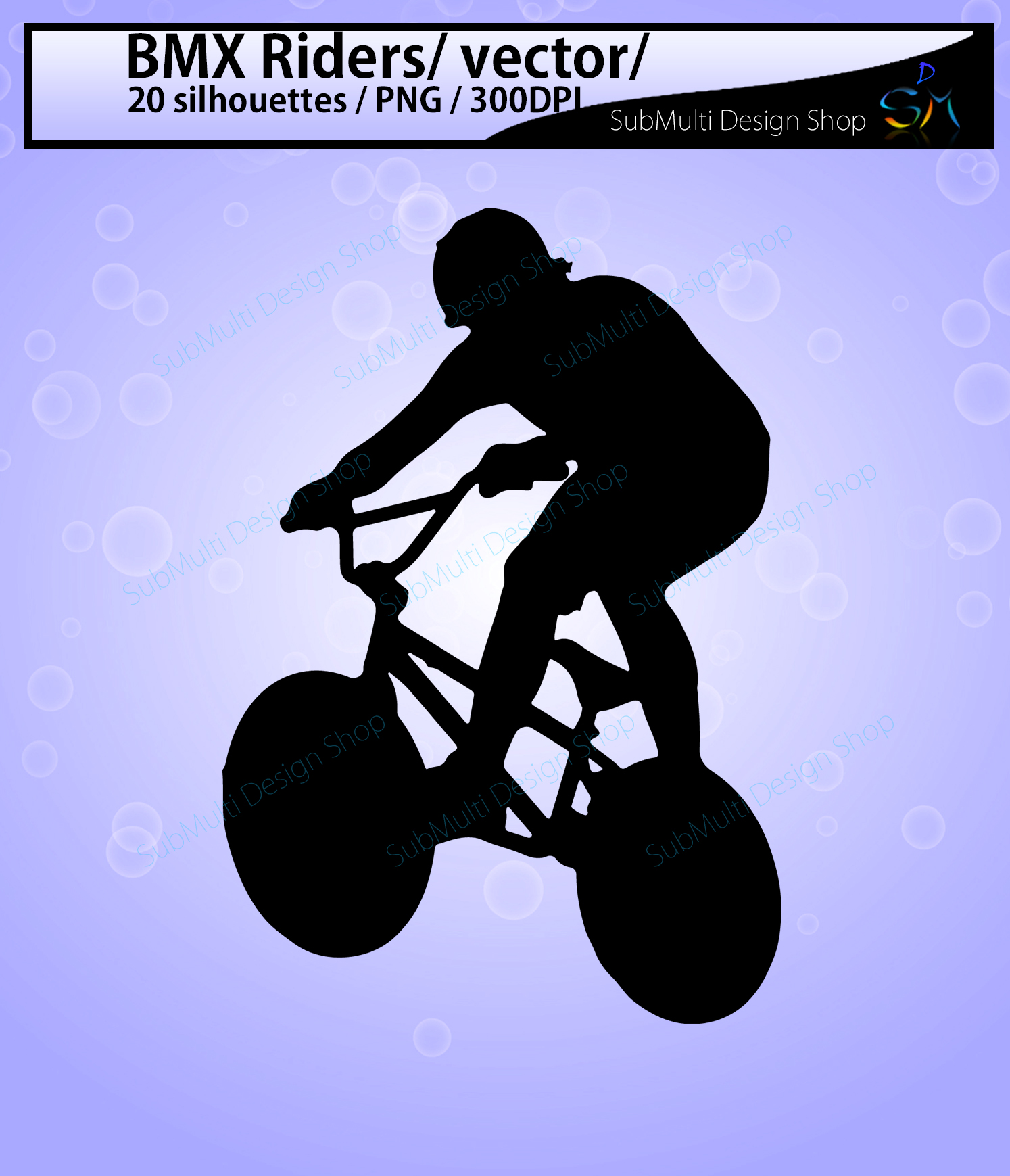 bmx rider silhouette / BMX Rider svg / bmx riders / bmx cycle / bmx rider cliparts / bmx rider vector / bike ride / SVG / EPS / Png / DXf example image 3