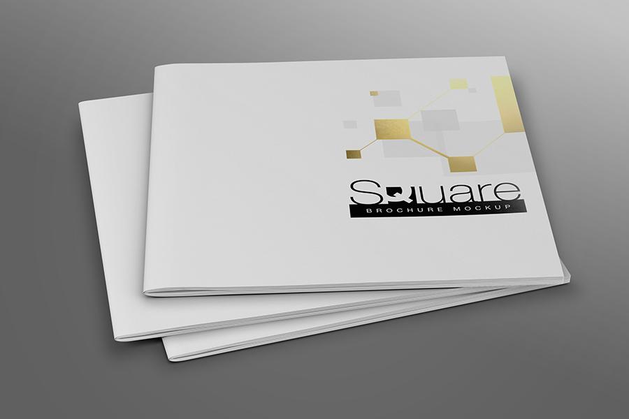 Square Brochure Mockup example image 8
