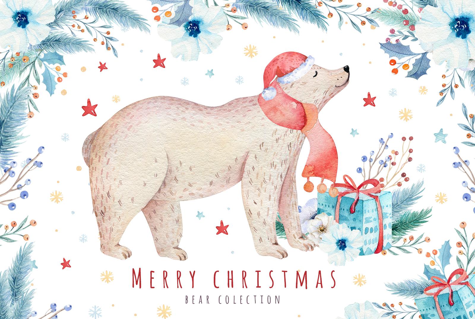 Christmas bear collection example image 1