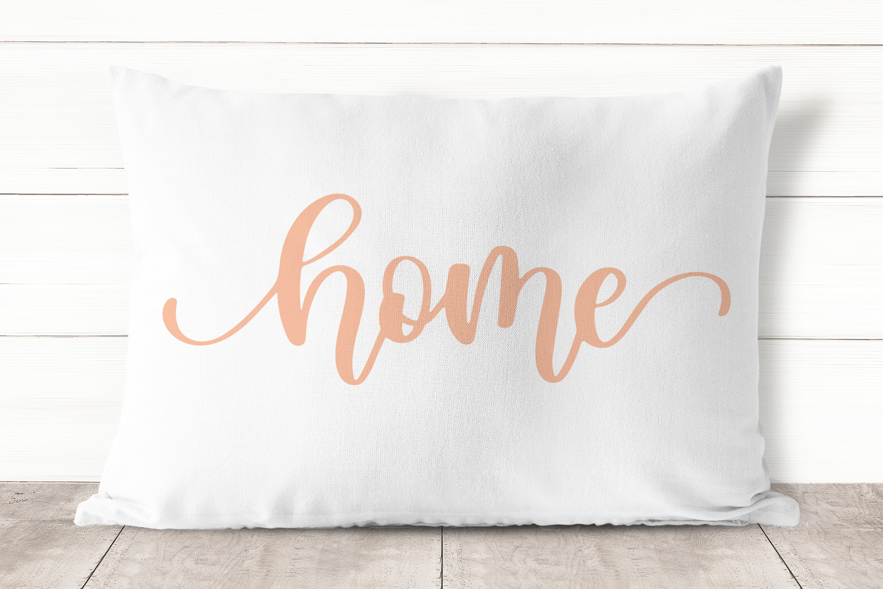 Home, Hand Lettered SVG Cut File for the House example image 3