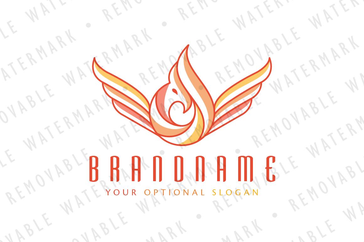 Phoenix Flame Logo example image 1