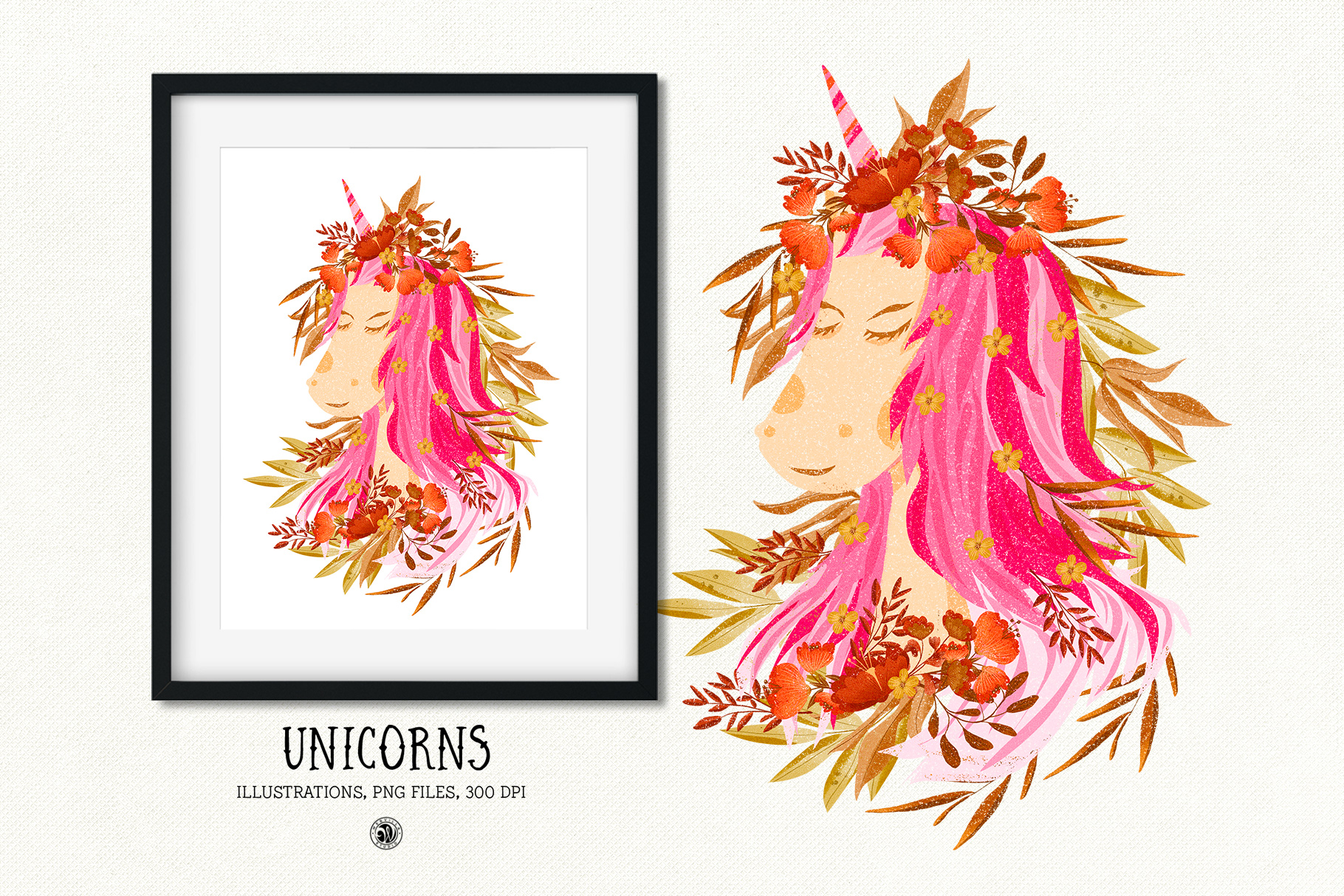 Unicorns Illustrations example image 6