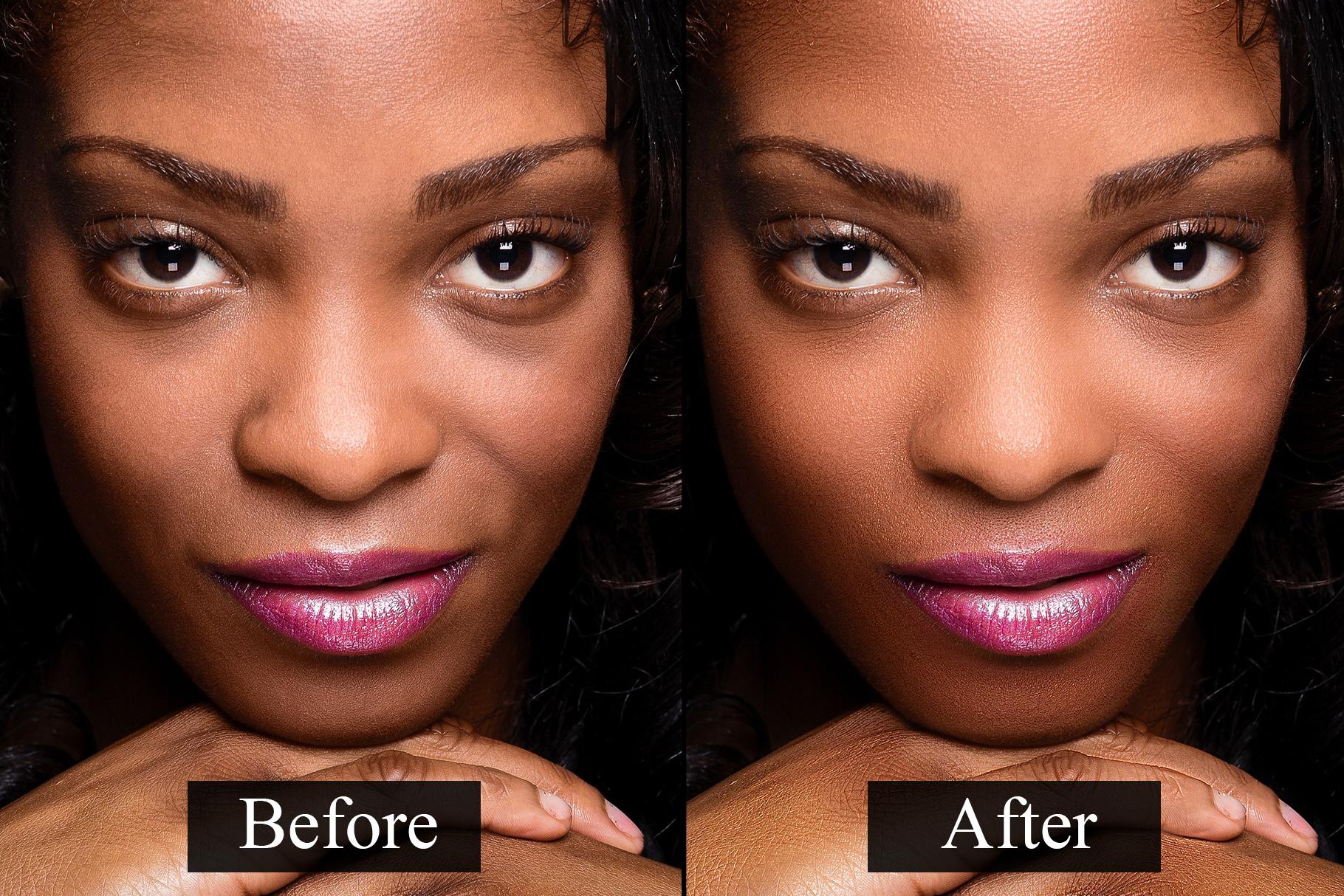 Skin Retouching Photoshop Actions example image 3