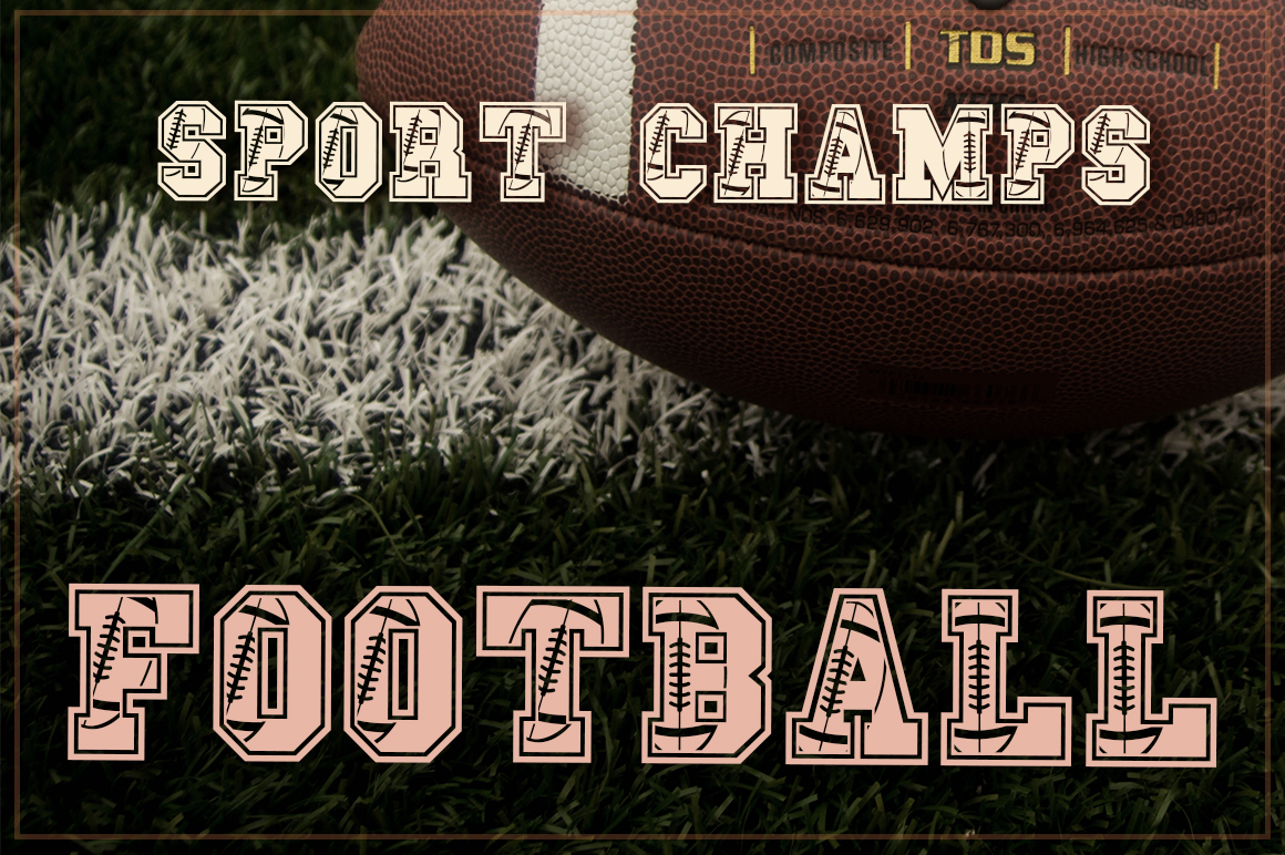 The Sport Champs Font Pack example image 16