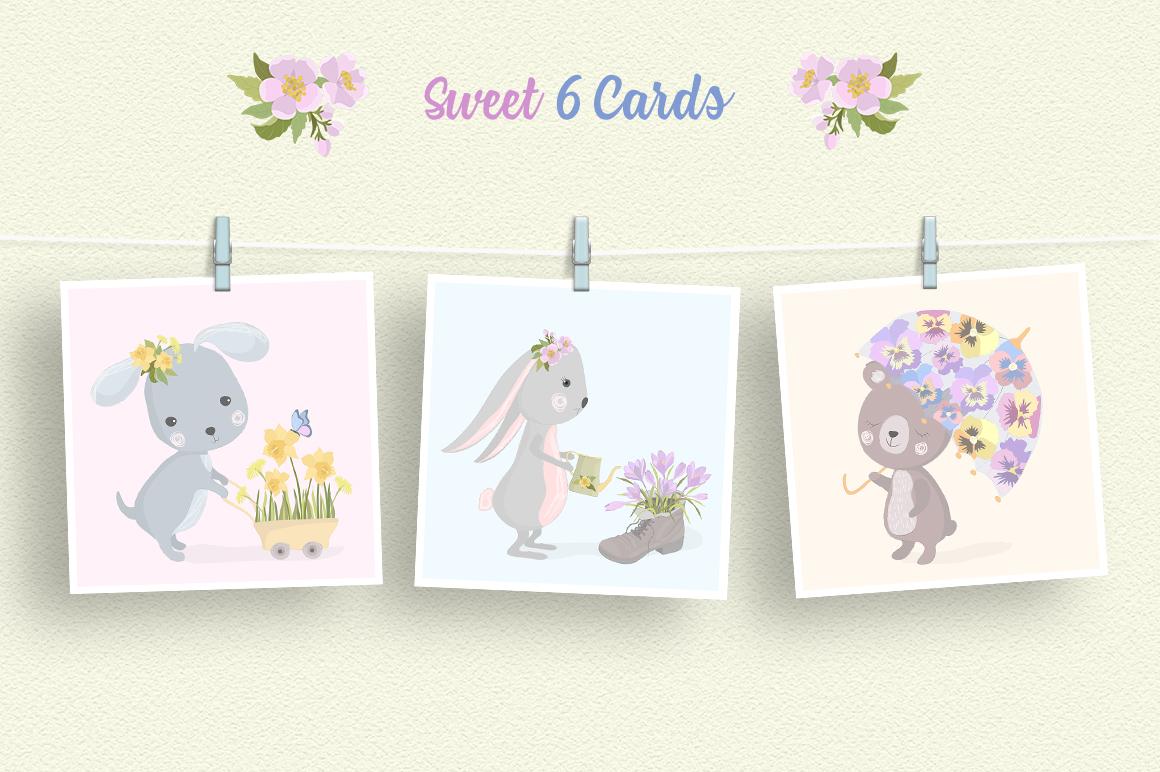 Hello Spring Illustration Set example image 2
