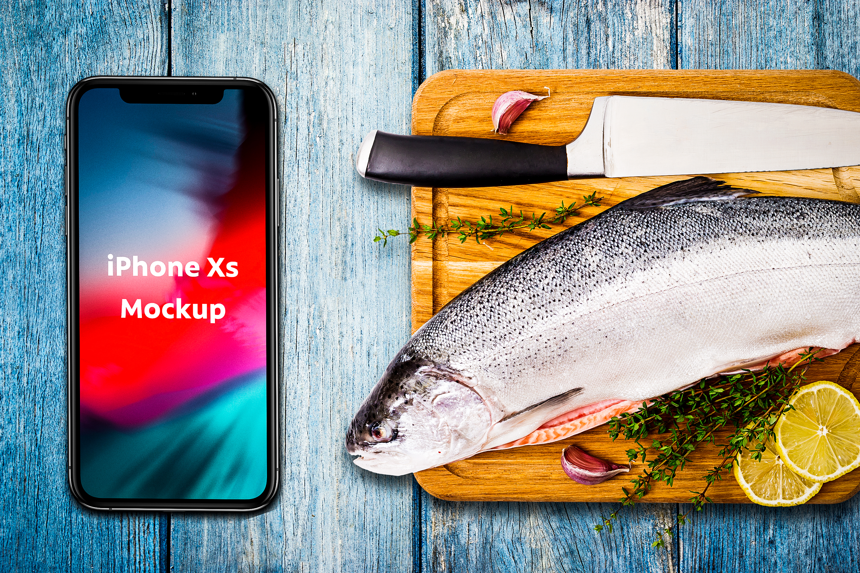 Seafood Mockup #12 example image 1