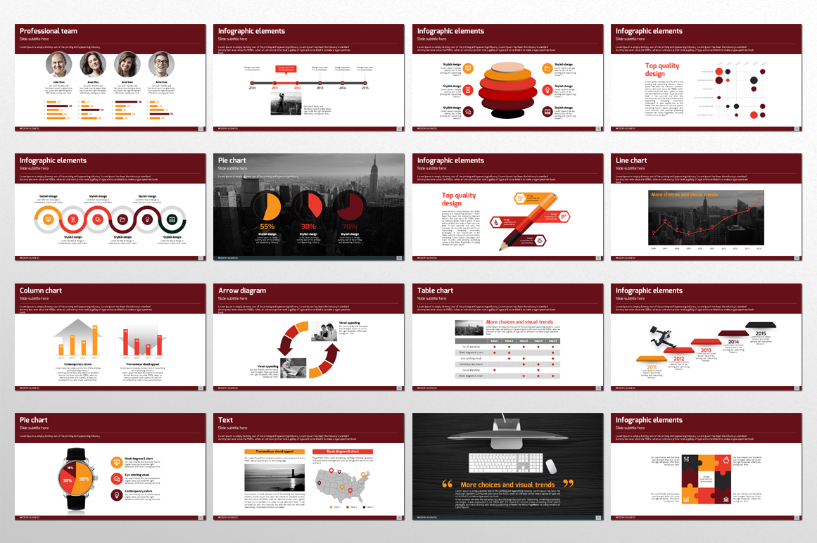 Modern Business PPT Template example image 4