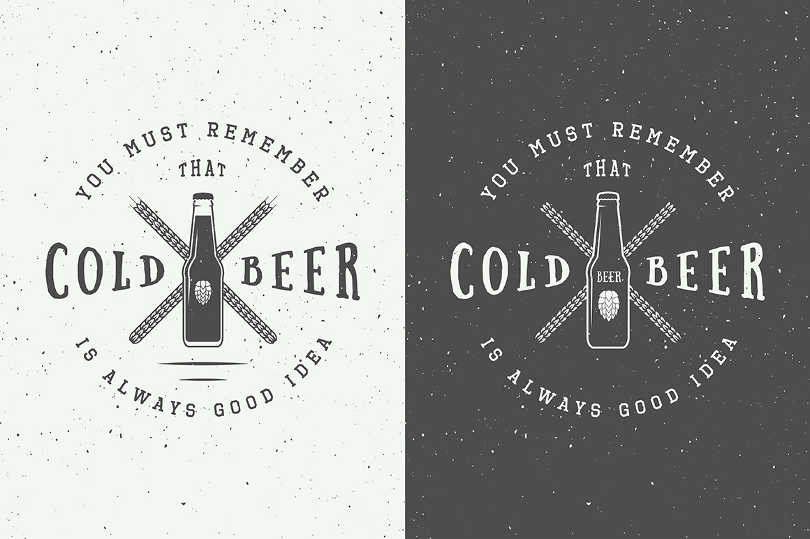 Beer Emblems Bundle example image 3