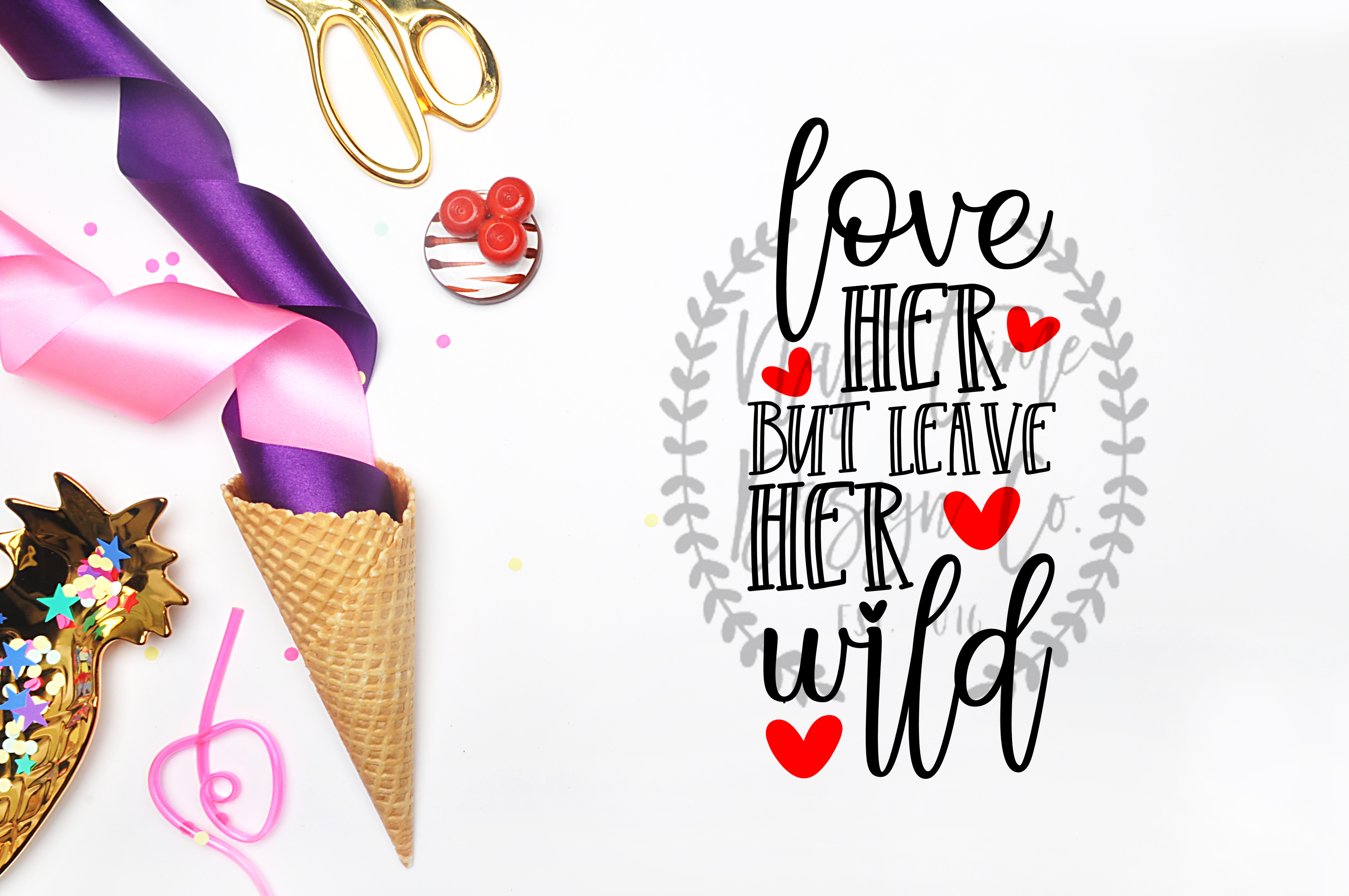 Love Her But Leave Her Wild SVG example image 1