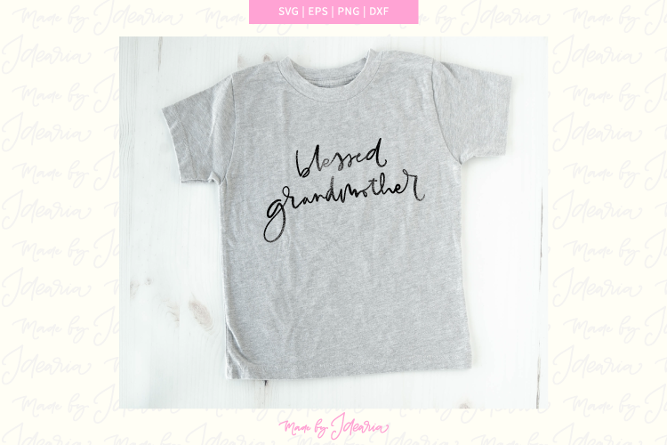 Grandmother svg, blessed grandmother svg, grandma svg, nana example image 1