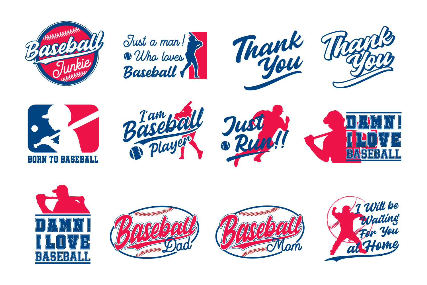 Cute & Sporty Graphic - Baseball Edition  example image 2