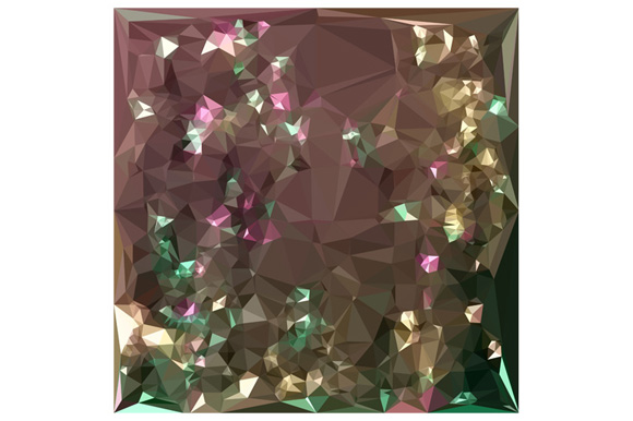 Antique Bronze Abstract Low Polygon Background example image 1