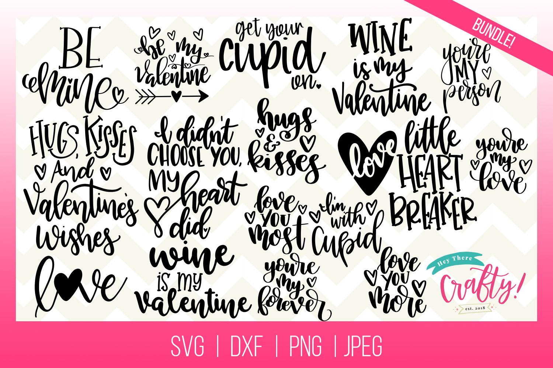 The Valentine SVG Bundle example image 1