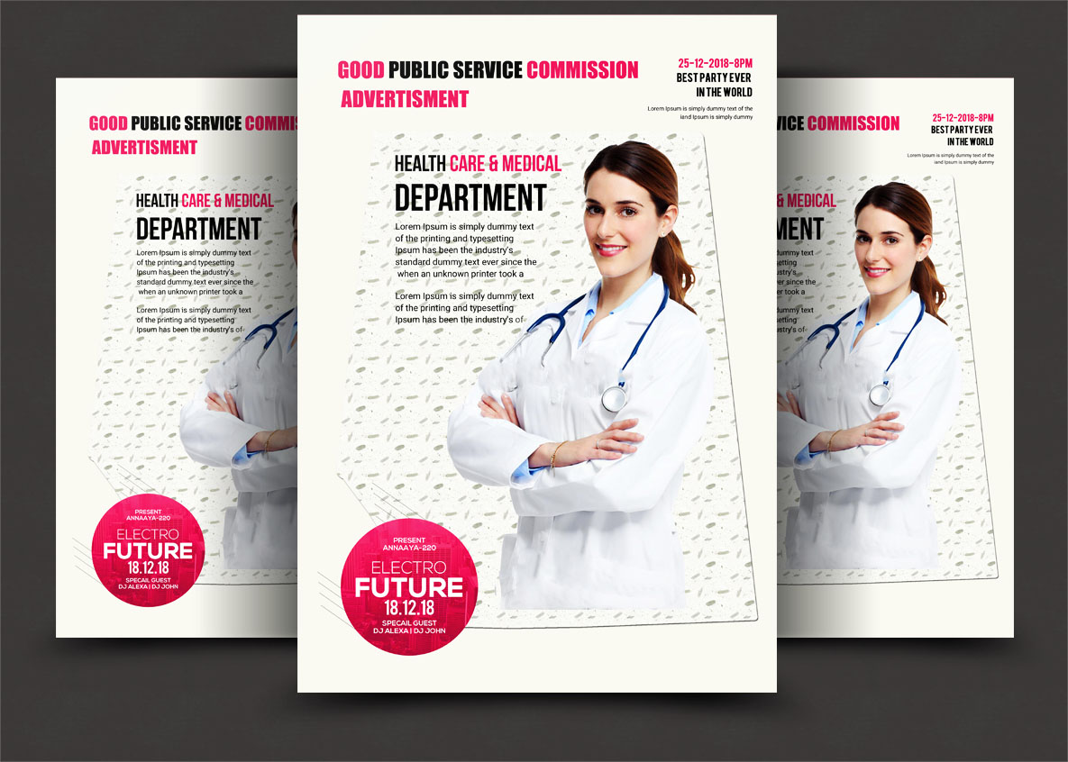 Doctor bundle psd 5 example image 5