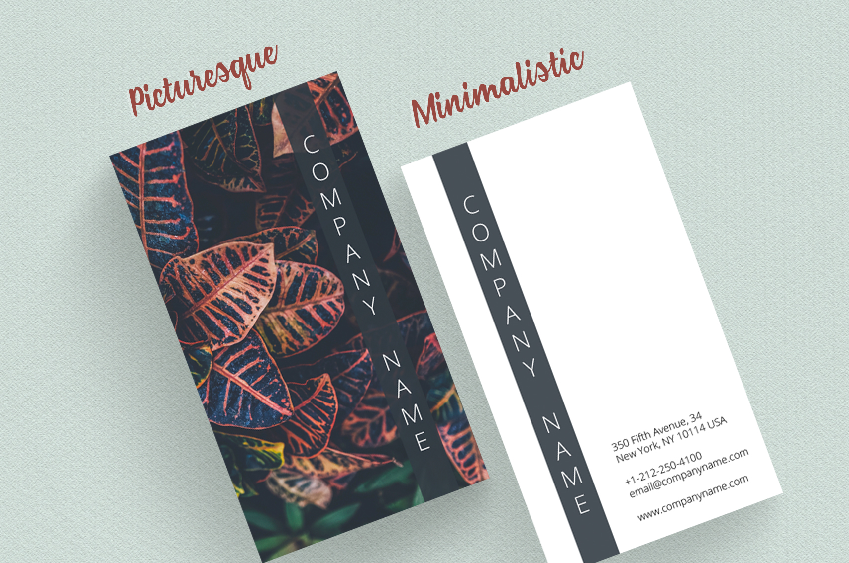 Asian Dream Business Card Template 2 example image 5