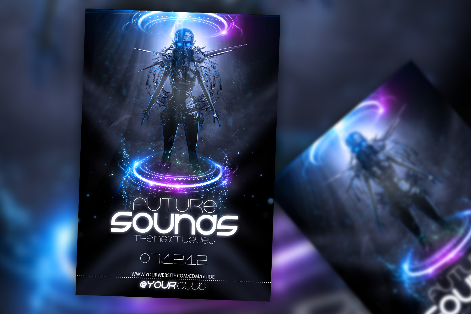 Future Sound Flyer example image 1