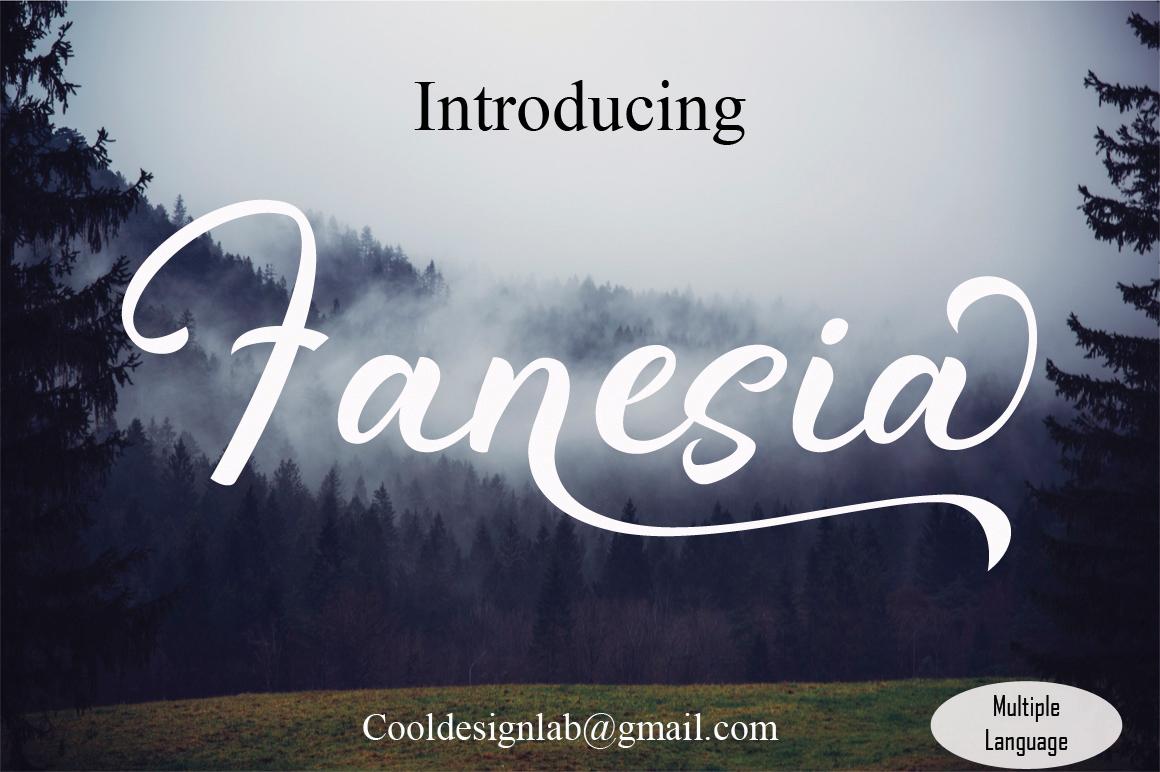 Fanesia script example image 1