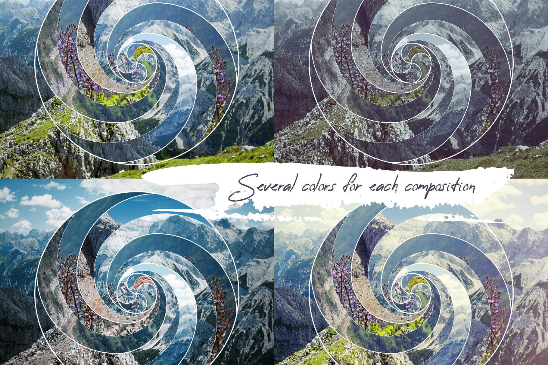 Sacred geometry unity of nature example image 2