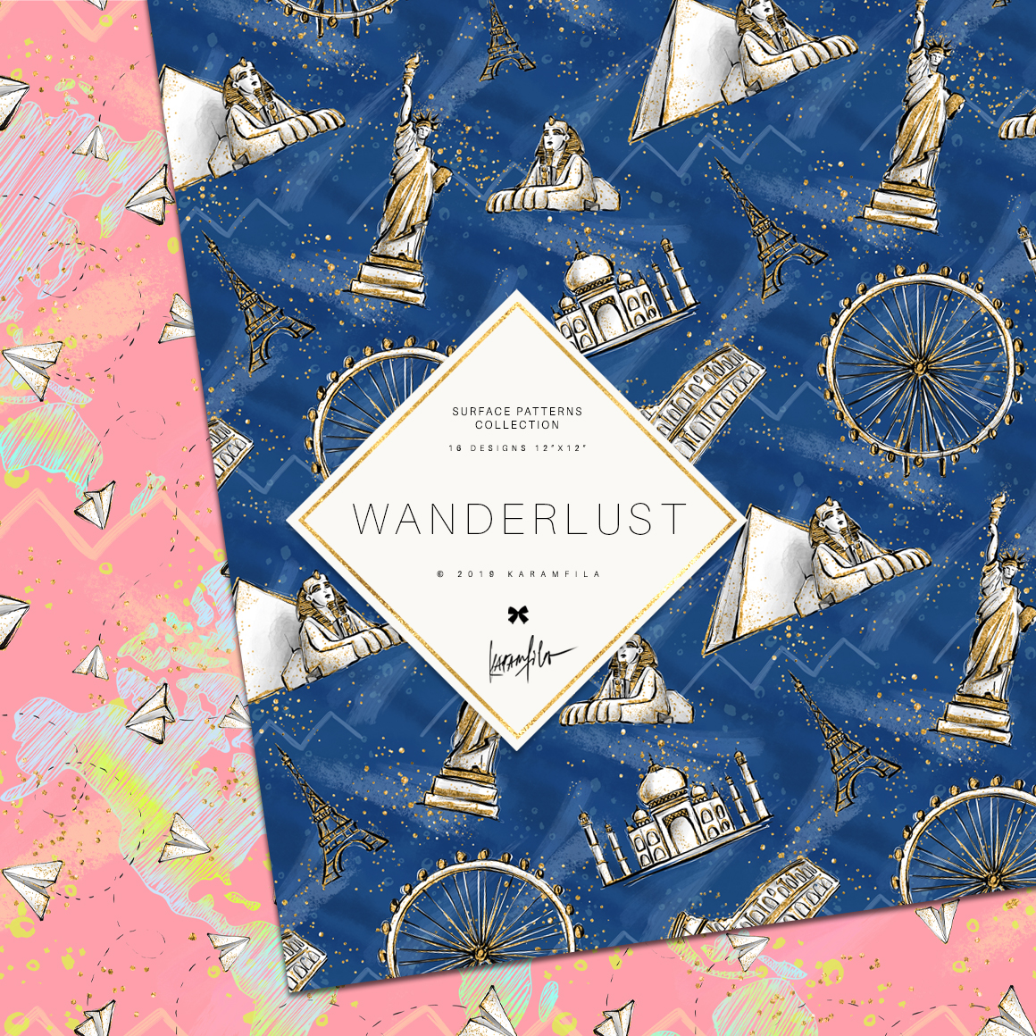Wanderlust Patterns example image 8