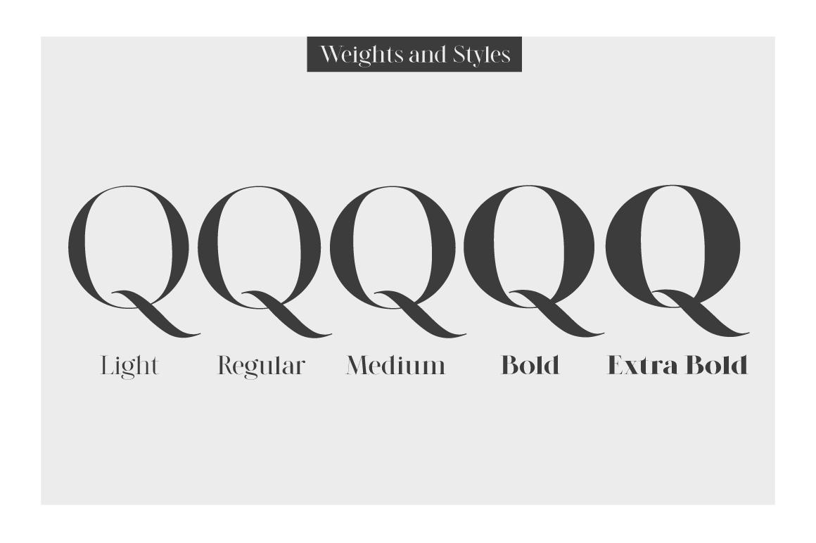 LEGATUM font family example image 5