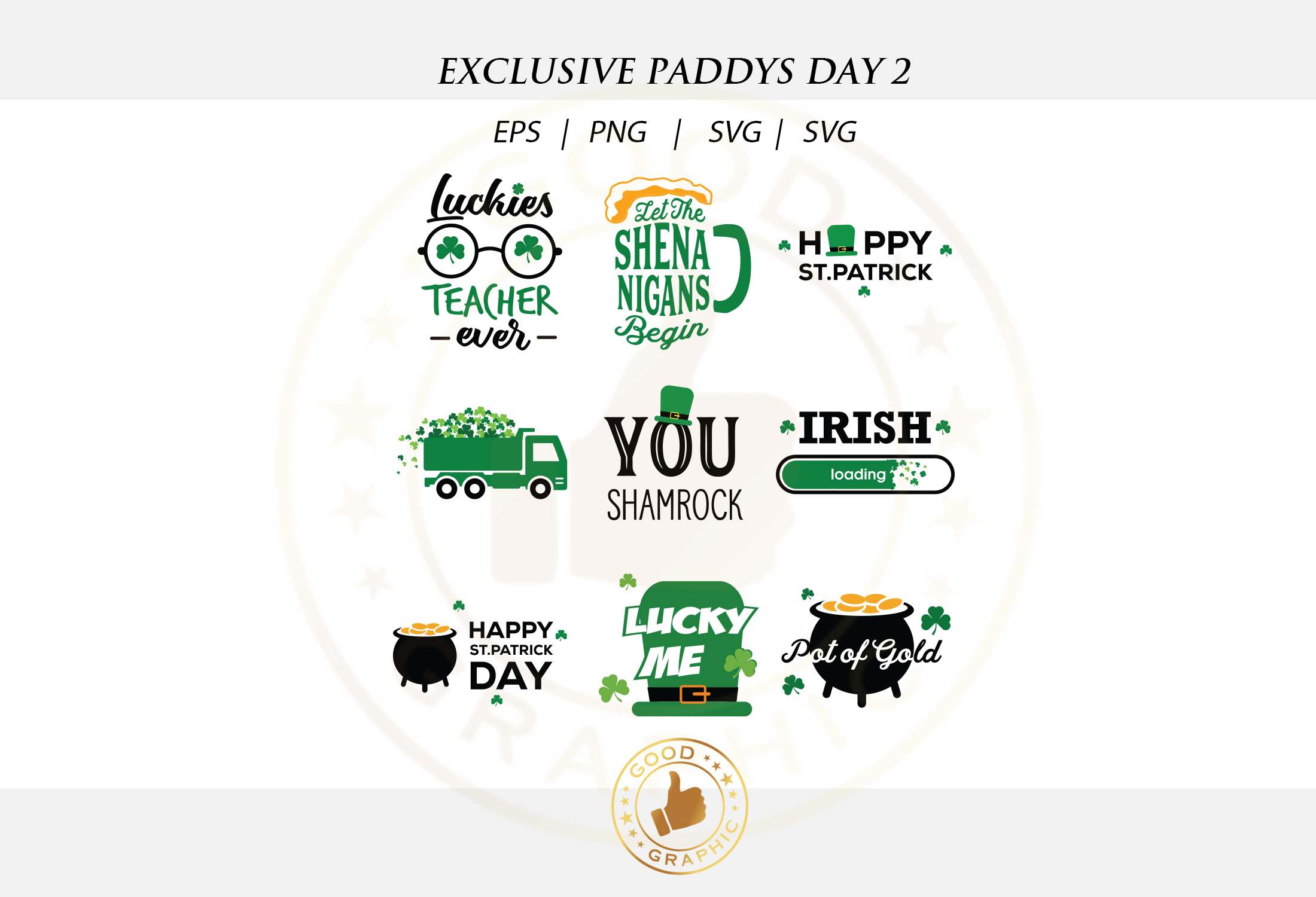 Exclusive Paddys day 2 example image 2