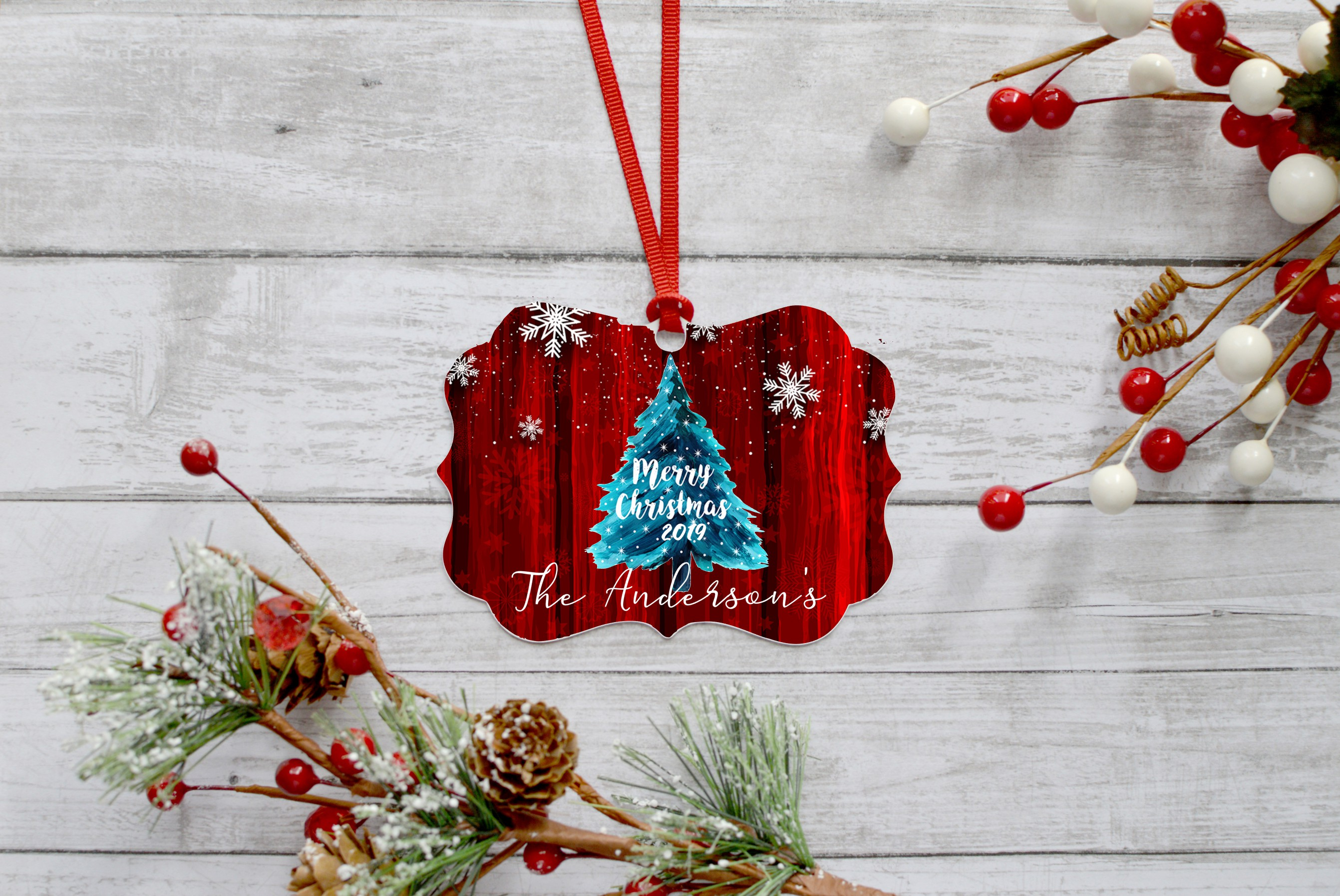 Christmas Ornament Bundle, Perfect for Sublimation example image 7