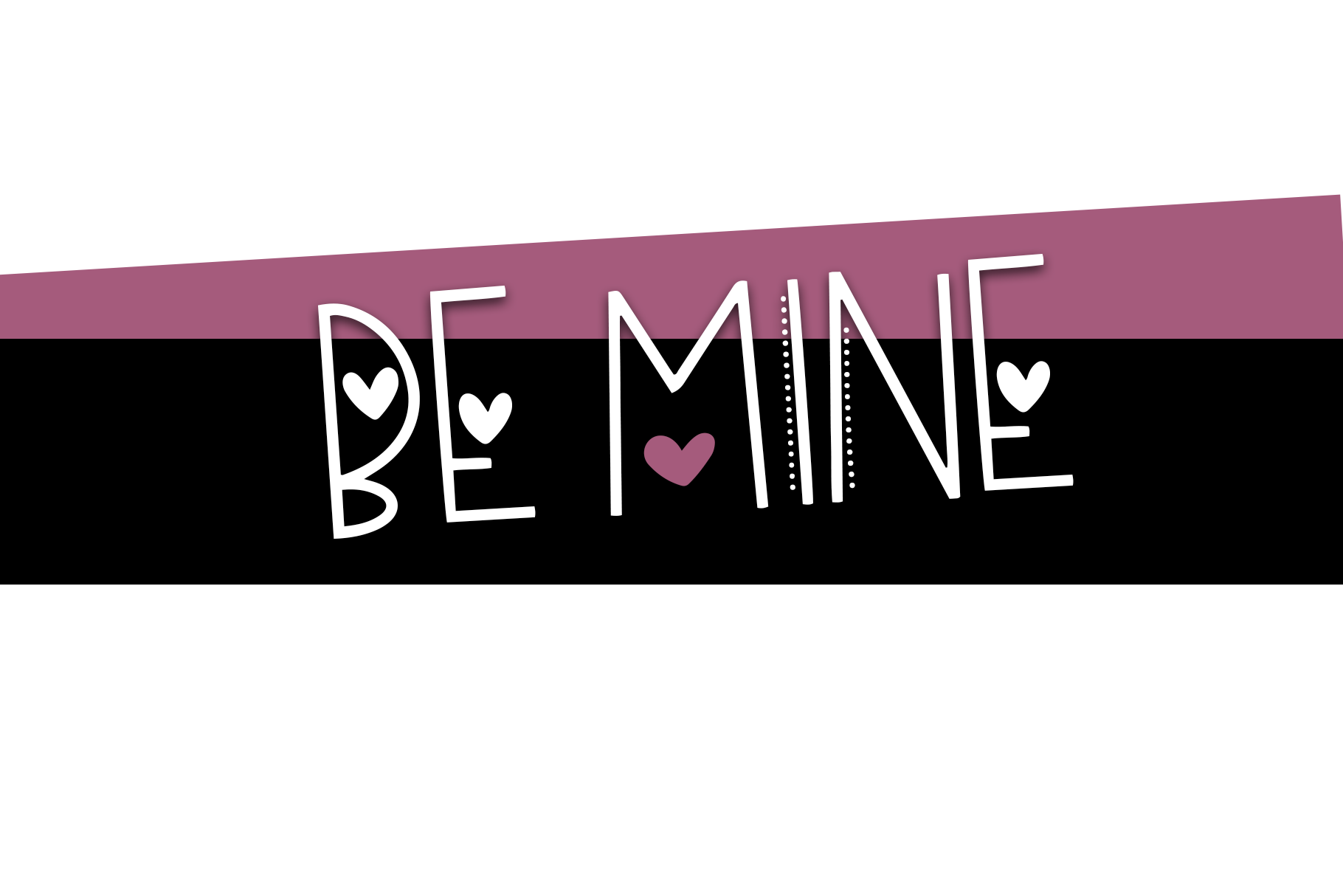 Hi Valentine - A Valentine's Day Font example image 8
