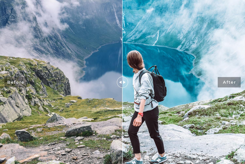 Norway Mobile & Desktop Lightroom Presets example image 2