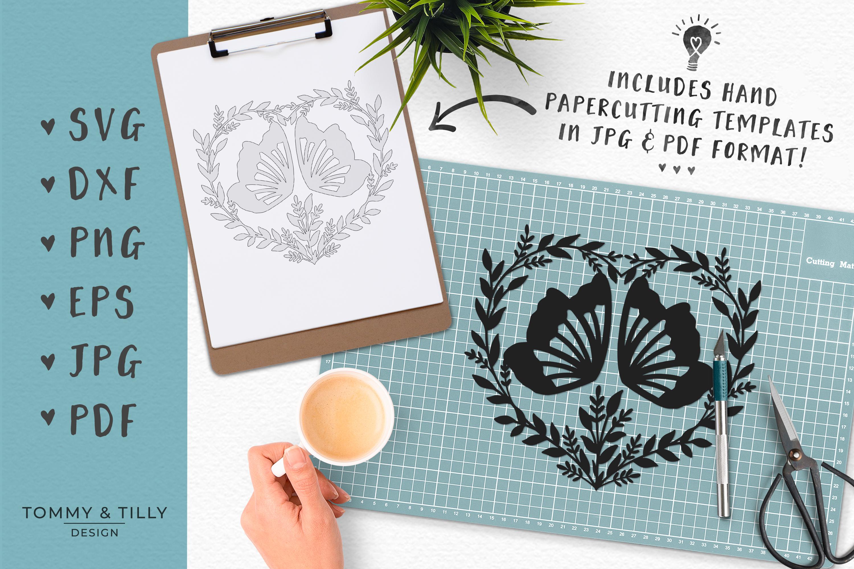 30 Designs! Romantic Hearts Bundle- SVG EPS DXF PNG PDF example image 7